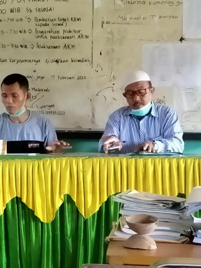 Rapat Langkah-langkah Kerja Panitia PPDB