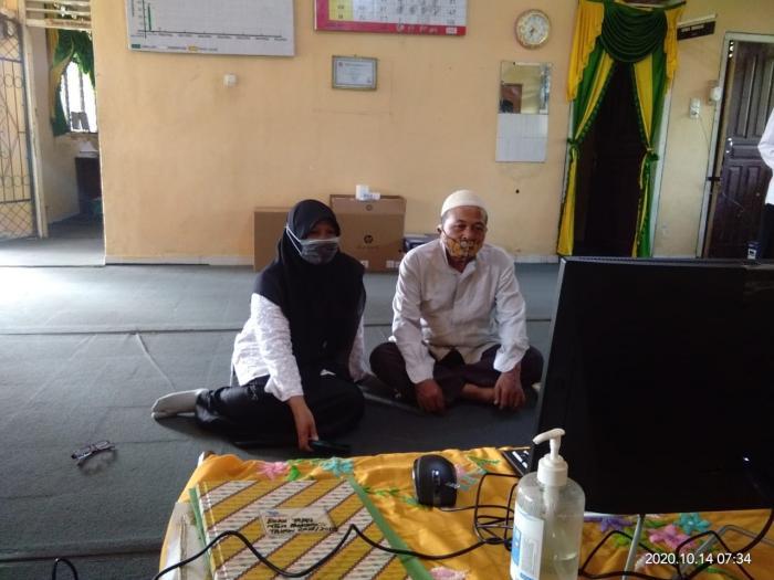 Kegiatan Bimtek Guru Mapel Akidah Aklhak Tingkat MTs Wilayah Sumatera dan DKI Jakarta